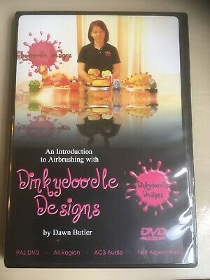 An Introduction To Airbrushing With Dinkydoodle Doodle by Dawn Butler - DVD