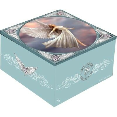 Anne Stokes Mirror Trinket Box featuring the Ascendence design