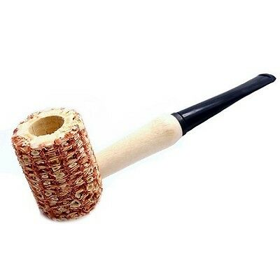 New Country Meerschaum Style Small Corn Cob Pocket Pipe Tobacco Smoking Tool