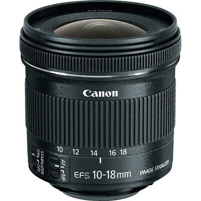 New Canon EF-S 10-18mm f/4.5-5.6 IS STM Lens for Canon DSLR