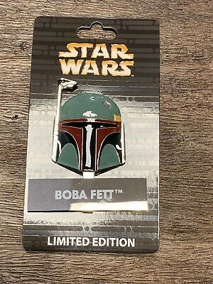 Disney Star Wars Pin of the Month Helmet Boba Fett LE 4000