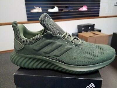 c546e659a9f81 Brand New adidas MEN S ALPHABOUNCE CR SHOES CG4572 Green Forgedmesh Running