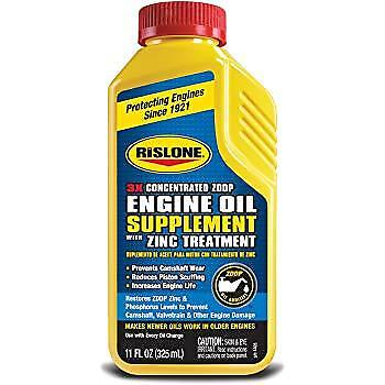 Rislone Engine Oil Supplement With Zinc Treatment All Petrol Diesel Engines