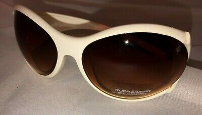 b5233690c8dbe RocaWear Women s R260 WH BUTTERFLY Sunglasses WHITE   BROWN LENS