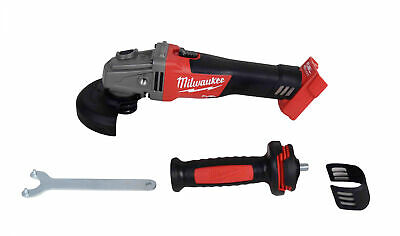 "Milwaukee 2781-20 M18 FUEL 4-1/2 - 5"" Grinder, Slide Switch Lock-On Bare Tool"