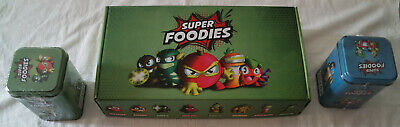 Super Foodies, Esselunga: Collector di personaggi 3D e 2 Tin Box sigillate