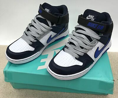 Black 5 Uk Size Mogan Jr Mid Nike Kids B Red Trainers Shoes Sb White f7gyb6Y
