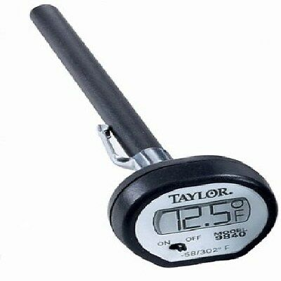 New Taylor 9840 Digital Instant-Read Pocket Thermometer