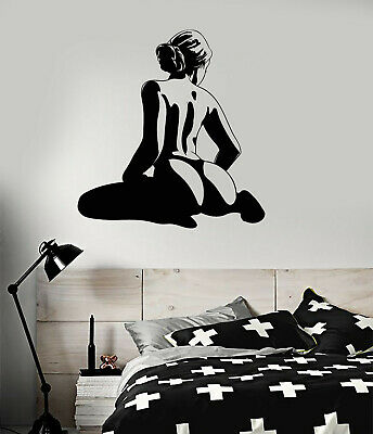 Vinyl Wall Decal Naked Woman Back Adult Decoration Room Art Stickers ig5116