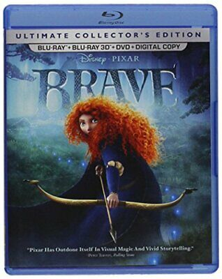 Brave (Five-Disc Ultimate Collector's Edition: Blu-ray 3D / Blu-ray / DVD + Dig