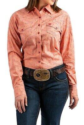dae276f5 CINCH WOMEN'S MULTI Color Striped Button Up Western Shirt MSW9164081 ...