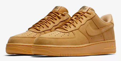 Nike Air Force 1 '07 Wb Shoes [Men's Size 15] Flax/Gum Light Brown Aa4061-200