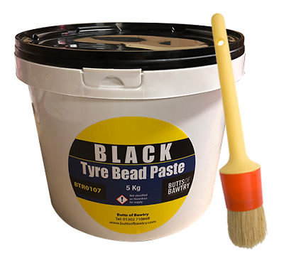 Tyre Mounting Cream With Free Brush Black Tyre Bead Paste Tyre Changer BTR0107