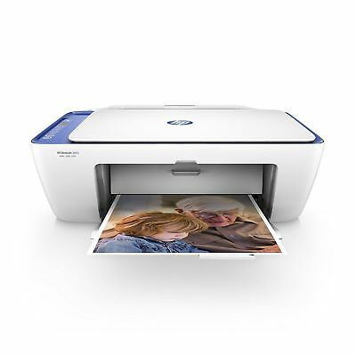 HP DeskJet 2655 All-in-One Instant Ink Wireless Color Compact Printer Blue