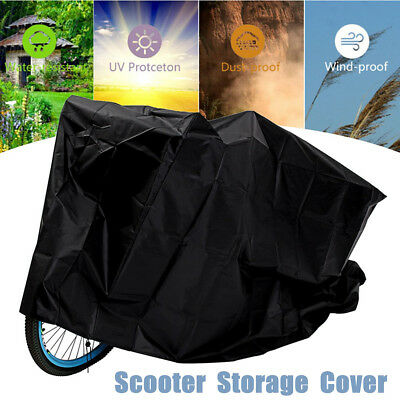 68x91x140cm Mobility Scooter Storage Cover Waterproof Rain Snow Dust