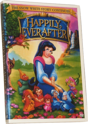 HAPPILY EVER AFTER DVD (1990) - Region 1 USA - Phyllis Diller - Snow White