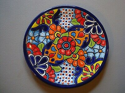 Mexican Tin Plate Magnet Ornament  Metal Art Hand Made Dishware