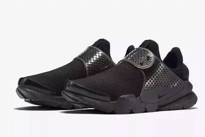 "timeless design df30f f5f8f Nike Sock Dart SE ""TRIPLE BLACK"" Running, Casual Shoes UK 6.5 EU 40.5"