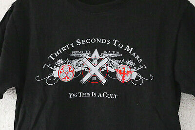 THIRTY SECONDS TO MARS YES THIS IS CULT UP Shirt S Arrow Mens T-Shirt
