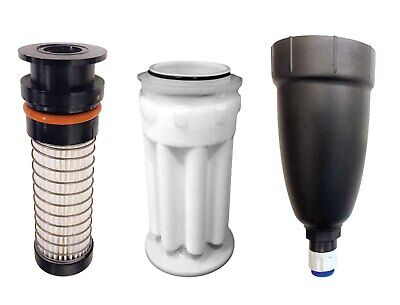 """Air Techniques Tank Outlet 5 Micron Filter & Delivery Hose Replacement Kit 3/8"""""""