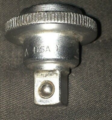 VINTAGE SNAP ON 3/8 DRIVE THUMB WHEEL RATCHET ADAPTER FRS70A USA Free Shipping
