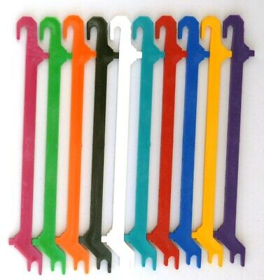 10 Assorted Invisalign Aligner Retainer Remover Tool Push-Pull Wide Hook Remover