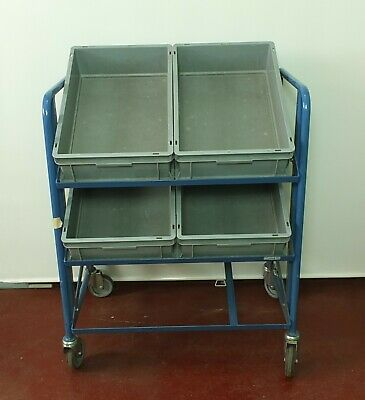 Fetra Car Floor Storage Trolley on Rolls Kistenwagen