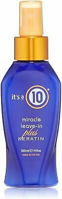Miracle Leave-in Conditioner Plus Keratin, Its a 10, 4 oz 1 pack