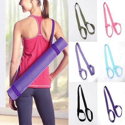 1PC Yoga Mat Adjustable Sling Shoulder Strap Belt Exercise Stretch Carriers CN