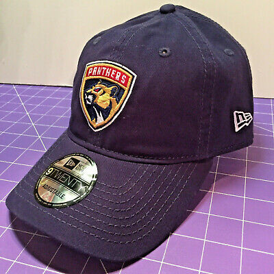 hot sale online 33bed 5ccdd NEW Logo Florida Panthers NEW ERA 9TWENTY 2018 Embroidered Cap Hat NHL OSFM