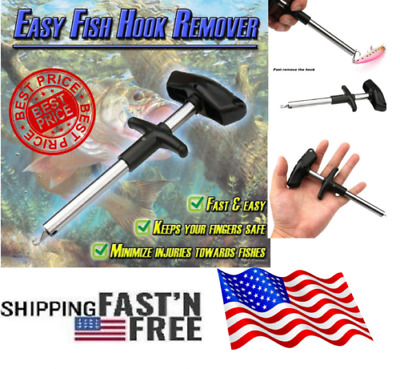 Easy Fish Hook Remover New Fishing Tool Minimizing The Injuries Tools Fishes