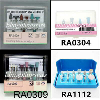 Dental Resin Composite Polishing For Low-speed Handpiece Contra Angle 4 Choice