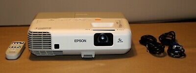 Epson PowerLite 93 Projector, with HDMI. New OEM Lamp Installed