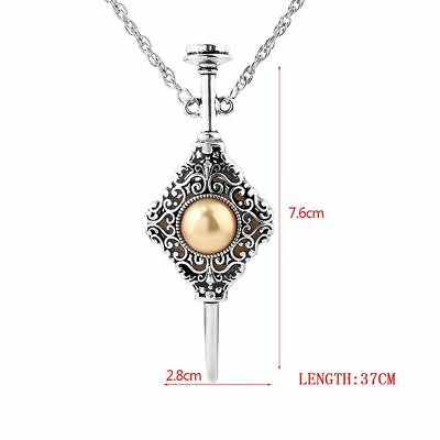 Harry Potter Fantastic Beasts Grindelwald Dumbledore Blood Pact Necklace Pendant