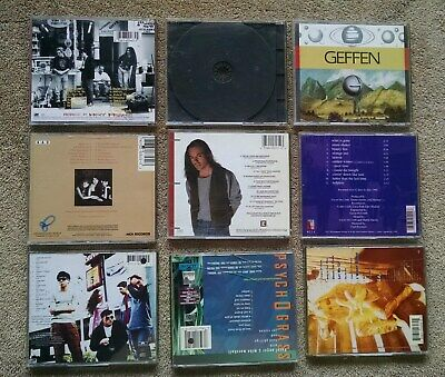 9 Lot 1990s College Radio Indie CDs Shadowland Moxy Fruvous Warrior Soul promos