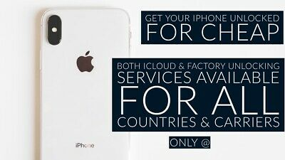 iCloud Unlock For All iPhone Models CLEAN IMEI Only
