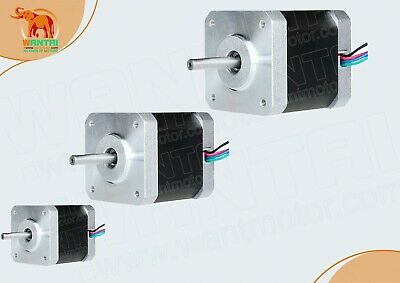 EU Free ship! 3PCS Nema17 Stepper Motor 42BYGHW804 1.2A 4800g.cm 48mm 2Ph 4lead