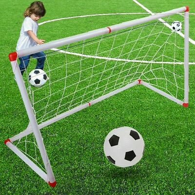 Children Football Soccer Goal Post Net with Ball and Inflator Kids Sport Toy