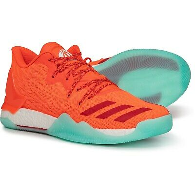 24eee9475e90 Adidas D Rose 7 Low Full Boost Solar Red Scarlet 16 M Basketball Euro 51   170
