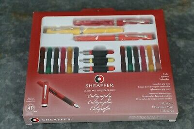 Sheaffer Classic Calligraphy Set BRAND NEW Perfect Set Writing Invitations