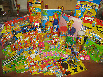 The Simpsons Grocery Collection  Lot 2 (Various Items 90'S)