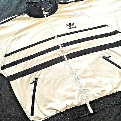 d06a9b3b0 Vintage 90s ADIDAS FIRST TRACKSUIT TOP S Superstar Firebird Lendl ATP  Safety Y3.