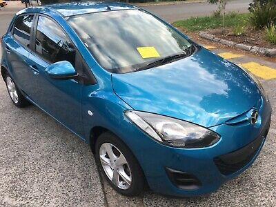 Mazda 2 Neo 2012 Model 5 Speed Hail Damage Statutory Write Off Salvage