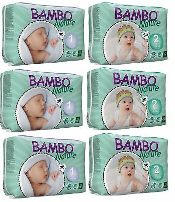 Bambo Nature Newborn & Mini MIXED Pack - BULK 3x28 and 3x30