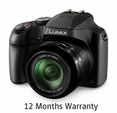 Panasonic DC-FZ82EB-K Lumix Digital Camera 18.1MP 60x Optical Zoom EX-DISPLAY
