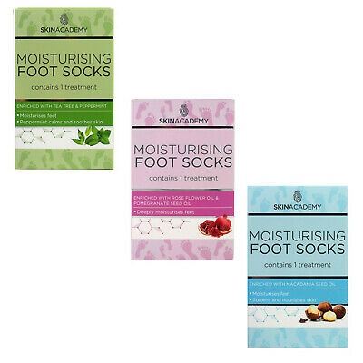 Skin Academy MOISTURISING Foot Socks Dry Feet Treatment