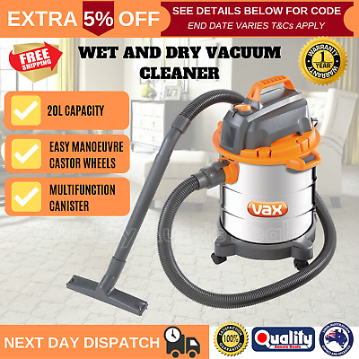 WET DRY VACUUM Cleaner Industrial Barrel NEW VX40 Home and