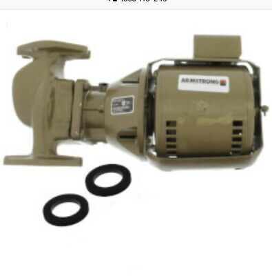 Taco 110-24S In-Line Thermostat Pumpe - 1/12HP - Stanless Stahl