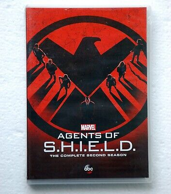 MARVEL Agents of S.H.I.E.L.D. DVD 2nd Second Season SHIELD ABC MAOS Hydra