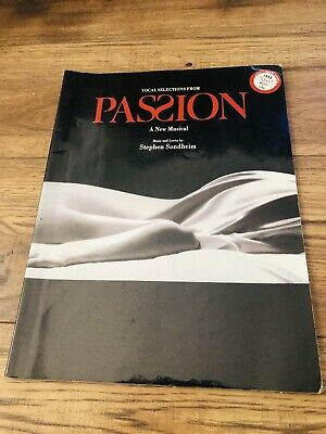 "Stephen Sondheim ""Passion"" 1994 Piano/Vocal Score Complete Music Hc Vg"